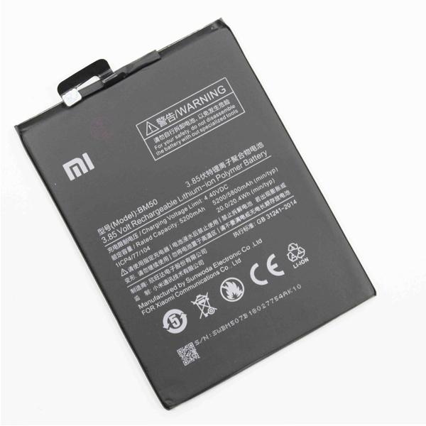 باتری موبایل شیاوومی Mi Max 2 مدل BM50 با ظرفیت 5200mAh