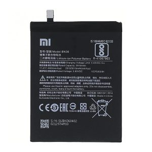 باتری موبایل شیاوومی Mi A2 مدل BN36 با ظرفیت 3010mAh