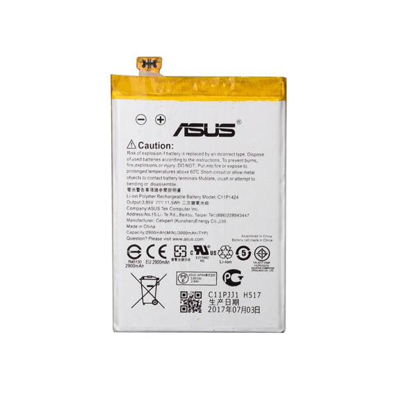 باتری موبایل مدل C11P1424 با ظرفیت 3000mAh مناسب برای گوشی موبایل ایسوس Zenfone 2 -