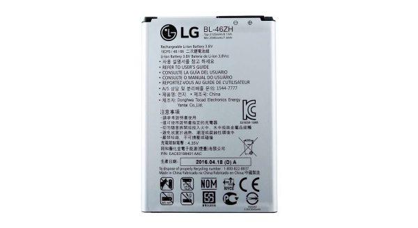 باتری موبایل مدل BL-46ZH با ظرفیت 2045 میلی آمپر ساعت مناسب برای گوشی موبایل LG K8 -