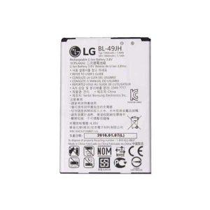 باتری موبایل مدل BL-49JH ظرفیت 1940مناسب برای گوشی موبایل ال جی K4 2016 میباشد برای سفارش با شماره 09126439322 تماس بگیرید