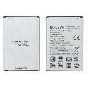 باتری موبایل مدل BL-53YH با ظرفیت 3000mAh مناسب برای گوشی موبایل ال جی G3 - سازگار
