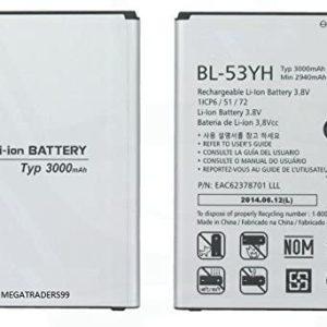 باتری موبایل مدل BL-53YH ظرفیت 3000 میلی آمپر ساعت مناسب برای گوشی موبایل ال جی G3 - بدون دستهبندی
