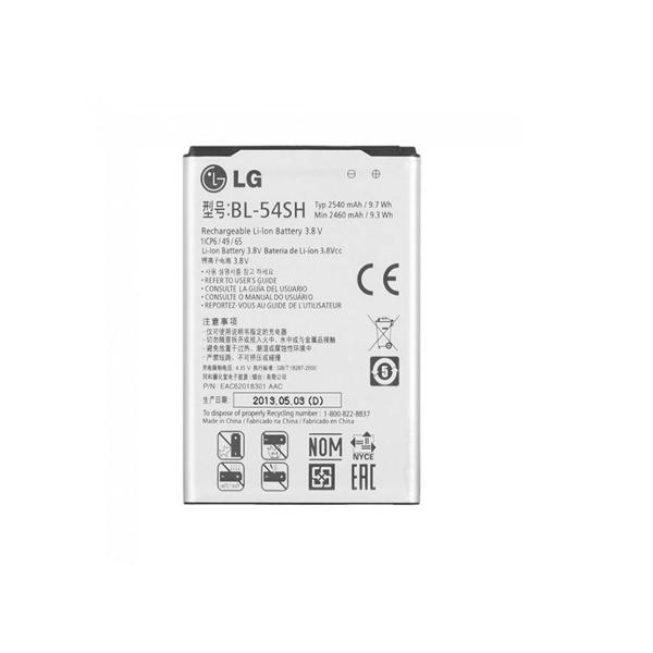 باتری گوشی مدل BL-54SH ظرفیت 2540 مناسب برای گوشی ال جی Optimus F7 میباشد برای سفارش با شماره 09126439322 تماس بگیرید