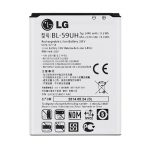 باتری موبایل مدل BL-59UH با ظرفیت 2440mAh مناسب برای گوشی موبایل ال جی G2 mini میباشد برای سفارش با شماره 09126439322 تماس بگیرید