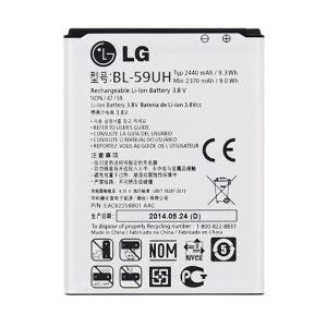 باتری موبایل مدل BL-59UH با ظرفیت 2440mAh مناسب برای گوشی موبایل ال جی G2 mini -