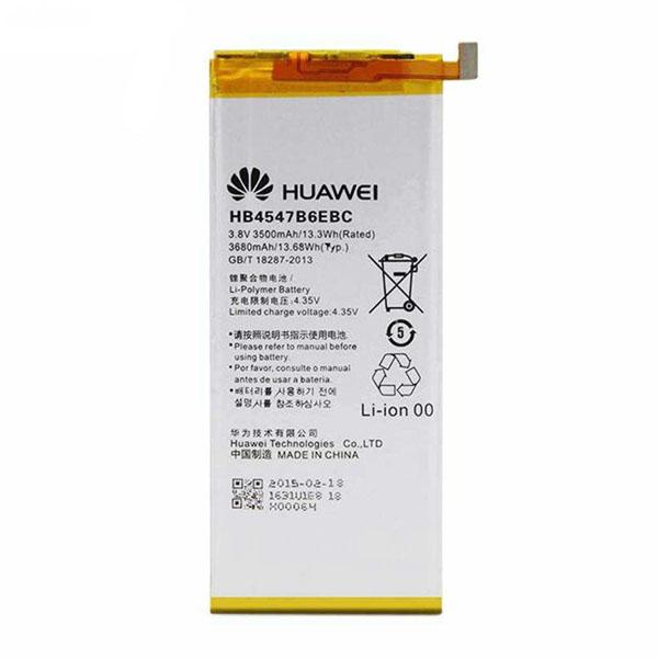 باتری موبایل مدل hb4547b6ebc ظرفیت 3500مناسب برای گوشی موبایل آنر 6 plus میباشد برای سفارش با شماره 09126439322 تماس بگیرید