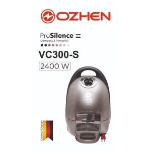 جاروبرقی ozhen ergomax مدل vc300-s با قدرت 2400 وات