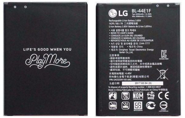 باتری موبایل مدل BL-44E1F ظرفیت 3080 میلی آمپر ساعت مناسب برای گوشی موبایل ال جی V20 -