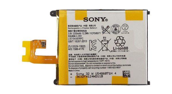 باتری موبایل مدل LIS1543ERPC ظرفیت 3200مناسب برای گوشی موبایل سونی Z2 میباشد برای سفارش با شماره 09126439322 تماس بگیرید