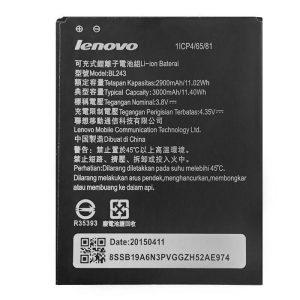 باتری موبایل لنوو مدل BL243 با ظرفیت 2900mAh مناسب برای گوشی های موبایل لنوو A7000 میباشد برای سفارش با شماره 09126439322 تماس بگیرید