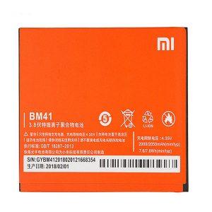 باتری موبایل مدل bm41 ظرفیت 2050 میلی آمپر ساعت مناسب برای گوشی موبایل شیائومی redmi 1s - باتری Xiaomi