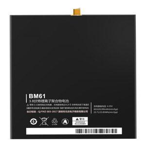 باتری تبلت مدل BM61 ظرفیت 6190 میلی آمپر ساعت مناسب برای تبلت شیائومی MI PAD 2 میباشد برای سفارش با شماره 09126439322 تماس بگیرید