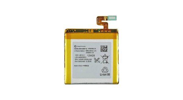باتری مدل LIS1485ERPC ظرفیت 1840مناسب برای گوشی سونی Xperia ION میباشد برای سفارش با شماره 09126439322 تماس بگدرید