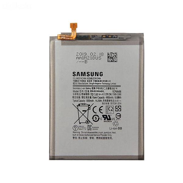 باتری موبایل مدل EB-BG580ABU-1 ظرفیت 5000 مناسب گوشی سامسونگ Galaxy M30 میباشد برای سفارش با شماره 09126439322 تماس بگیرید