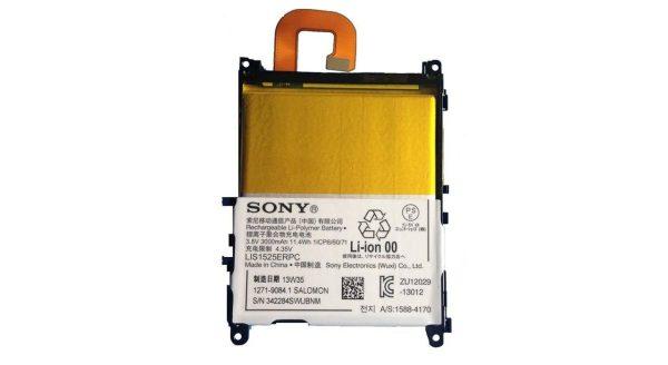 باتری موبایل مدل LIS1525ERPC ظرفیت 3000 مناسب برای گوشی موبایل سونی Z1 میباشد برای سفارش با شماره 09126439322 تماس بگیرید