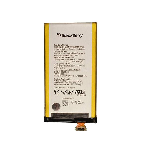 باتری موبایل مدل CUWV1 با ظرفیت 2800mAh مناسب برای گوشی موبایل بلک بری Z30